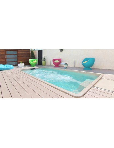 Piscine composite CITY Pool II moins de 10 m2